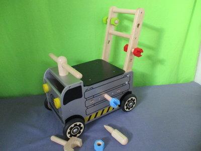 Loopduwwagen bouwvrachtwagen i'm toy