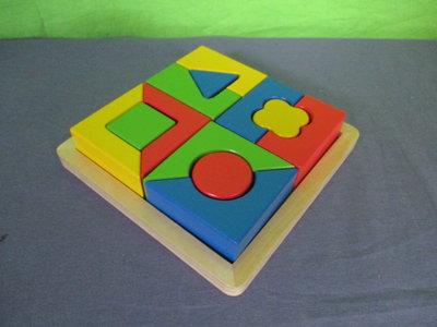 Blokken puzzel vormen
