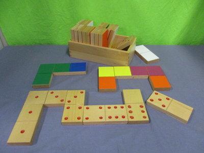 Domino cijfers en kleur