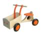Houten bakfiets oranje Van Dijk Toys